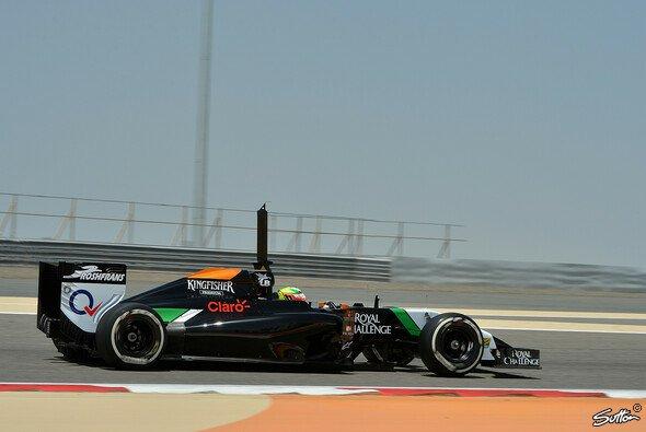 Perez zeigte in Bahrain ein tolles Rennen