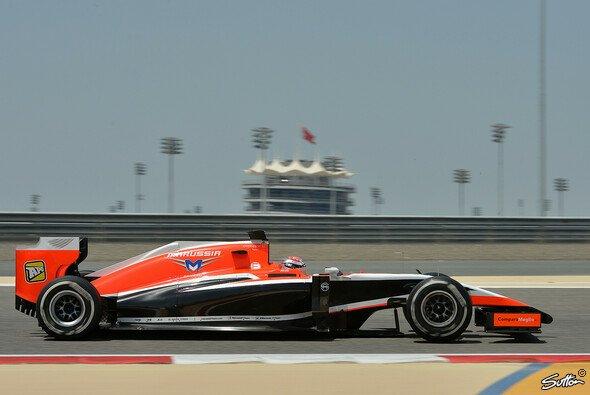 Jules Bianchi war nach Lewis Hamilton der fleißigste Fahrer am Mittwoch in Bahrain