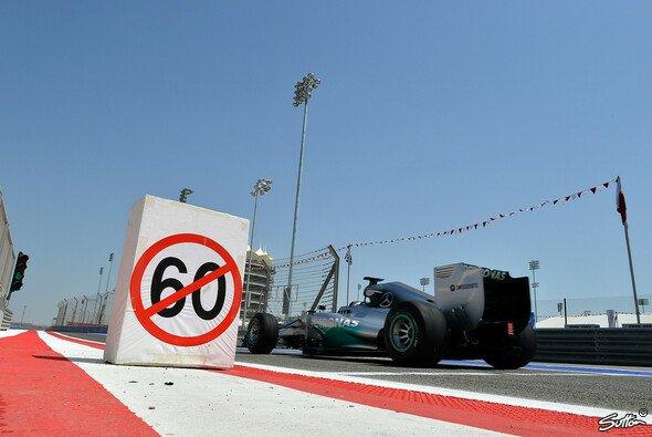Lewis Hamilton ist froh, dass der Reifen-Test vorbei ist