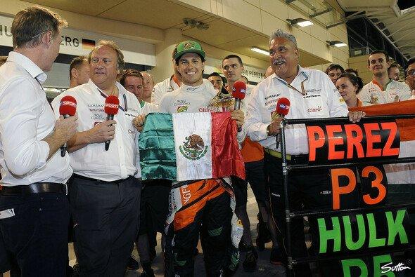 Bei Force India hängt der Himmel voller Geigen