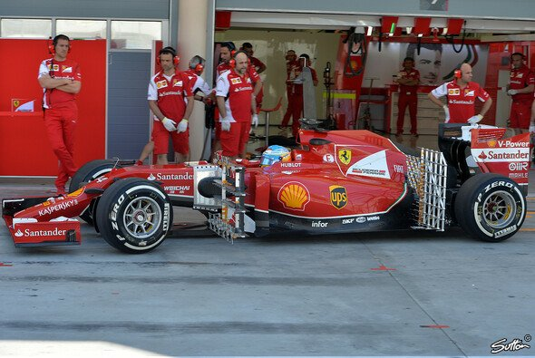 Ferrari fuhr schwere Geschütze auf