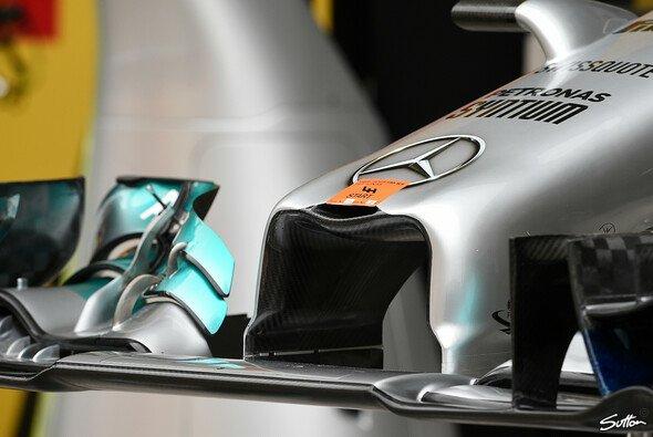 In der Kürze liegt die Würze: Die neue Mercedes-Nase ist einige Zentimeter kürzer