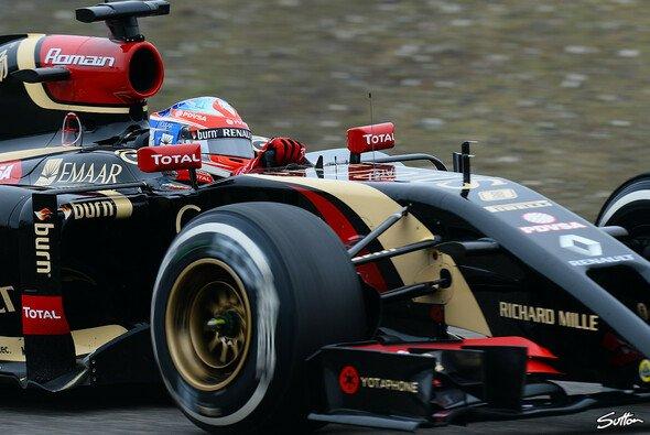 Romain Grosjean untermauerte in China erste Anzeichen der Besserung am Lotus