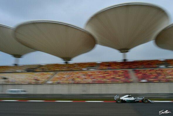Nico Rosberg belegte in den China-Trainings die Plätze 2 und 3