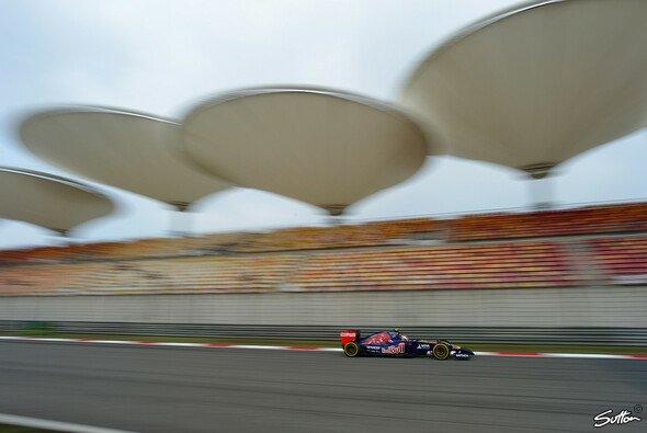 Auftakt nach Maß: Der Toro Rosso läuft in China gut