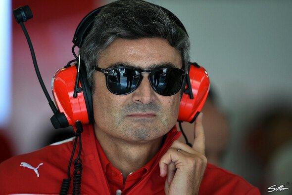Mit seiner Sonnenbrille war Mattiacci Gesprächsthema Nr.1