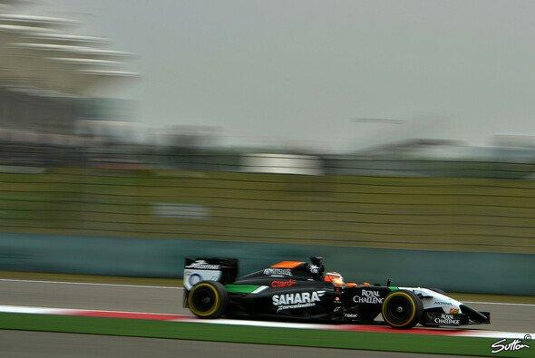 Nico Hülkenberg liegt auf Rang vier der Fahrerwertung