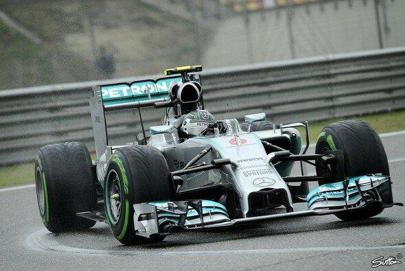 Nico Rosberg startet beim China GP vom vierten Startplatz