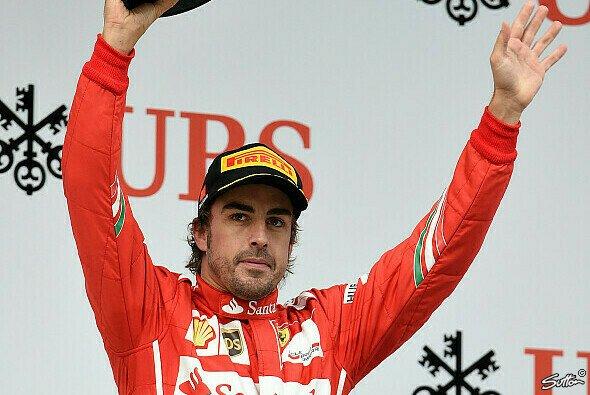 Fernando Alonso wurde in Shanghai Dritter