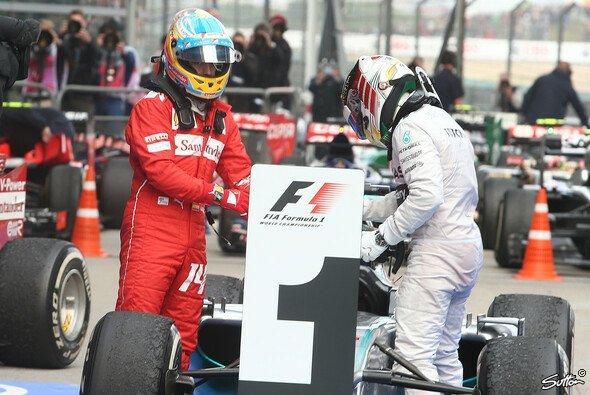 Hamilton und Alonso hatten allen Grund zur Freude