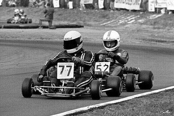 Ayrton Senna genoss seine Zweikämpfe im Go-Kart mehr als in der Formel 1 - Foto: Sutton