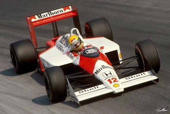 Eine Augenweide: Der McLaren MP4/4 aus der Formel-1-Saison 1988 - Foto: Sutton