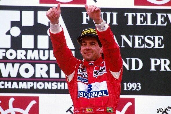 An der McLaren-Legende Ayrton Senna führt auch bei den MSM-Lesern kein Weg vorbei - Foto: Sutton