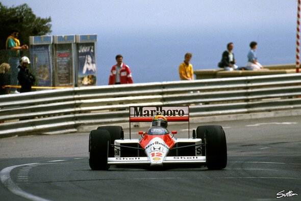 Senna 1988 in Monaco - Foto: Sutton