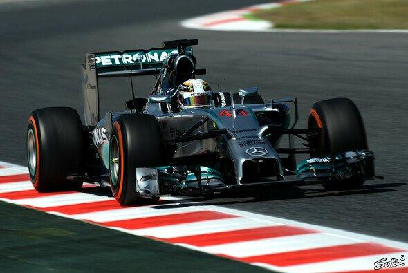 Lewis Hamilton ist auf und davon - auch bei den Longruns