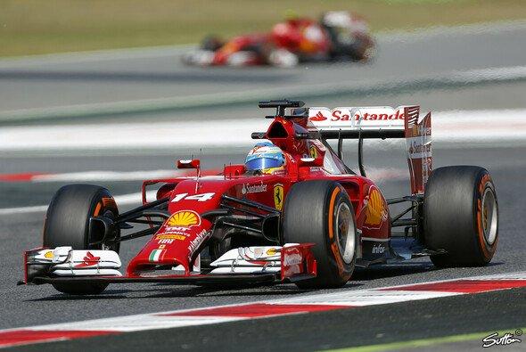 Die Bedingungen in Spanien liegen dem Ferrari nicht