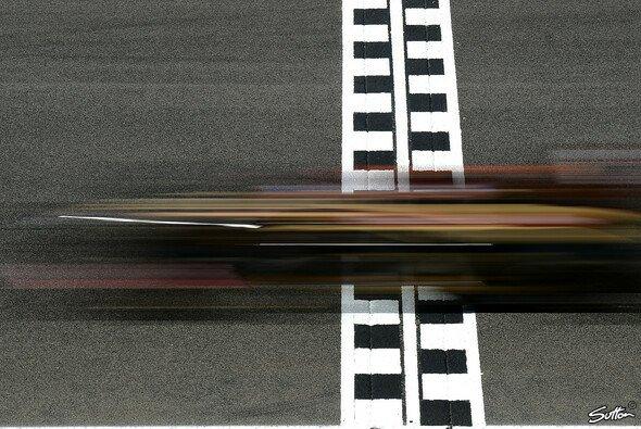 So schnell wie am Freitag hatte man Lotus in dieser Saison selten gesehen