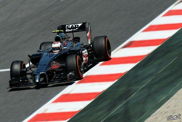 Der McLaren ist absolut kein Hitzebolide