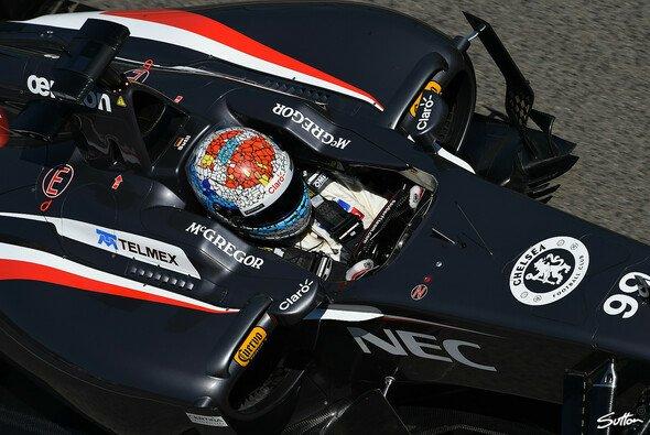 Adrian Sutil konnte 2014 noch keinen WM-Punkt sammeln