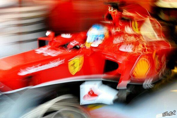 Fernando Alonso musste sich auch dem Teamkollegen geschlagen geben