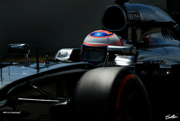 Jenson Button haderte mit der Balance des MP4-29. - Foto: Sutton