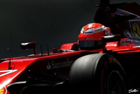 Besserung in Sicht: Für Kimi Räikkönen lief es im Qualifying etwas runder