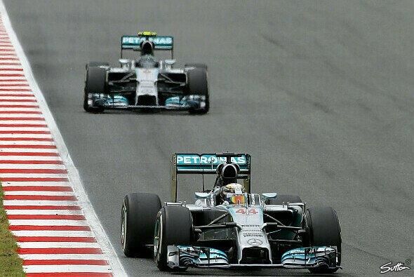 Fahren Lewis Hamilton und Nico Rosberg auch in Monaco ihr eigenes Rennen?