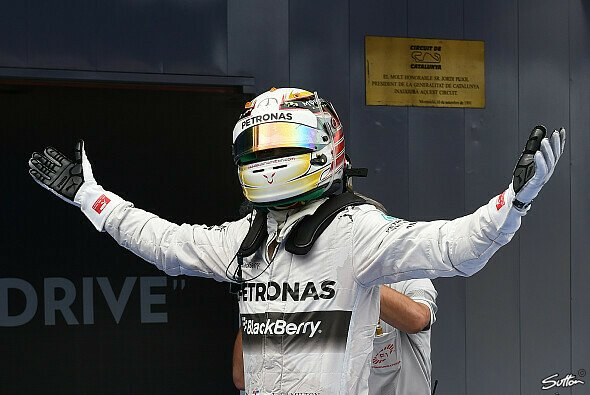 Lewis Hamilton ist der Mann der Stunde