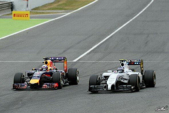 Das Duell Williams gegen Red Bull sorgt nicht nur auf der Strecke für Feuer - Foto: Sutton