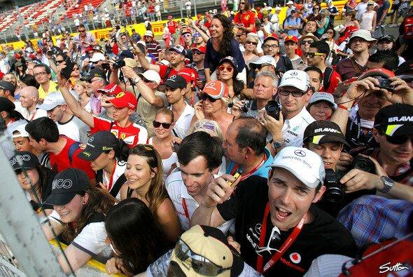Nicht in allen Ländern pilgern so viele Zuschauer an die Strecke wie in Spanien