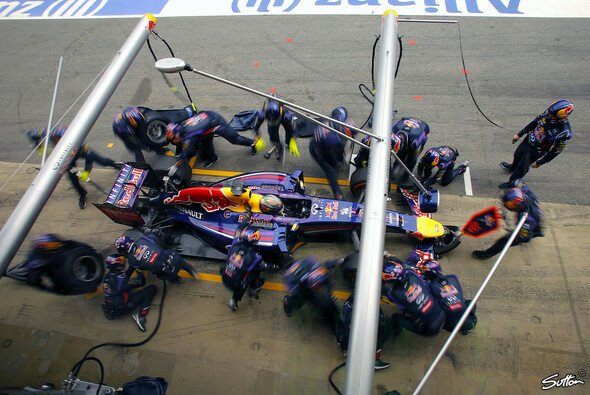 Sebastian Vettels Truppe arbeitete weltmeisterlich