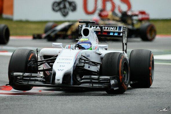 Felipe Massa war einmal mehr als Schnellster geblitzt