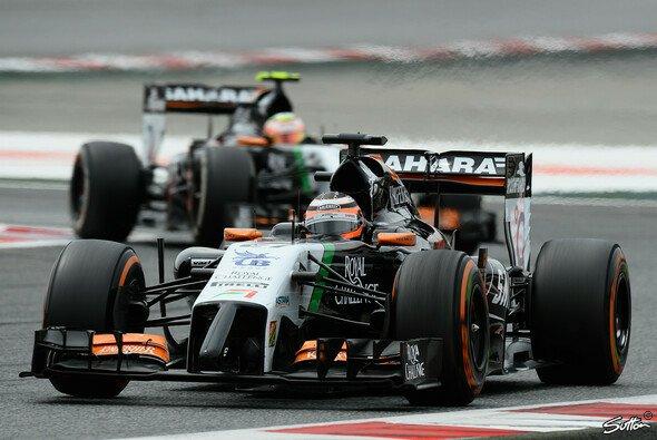 Force India steht bislang auf einem hervorragenden vierten Platz in der Teamwertung