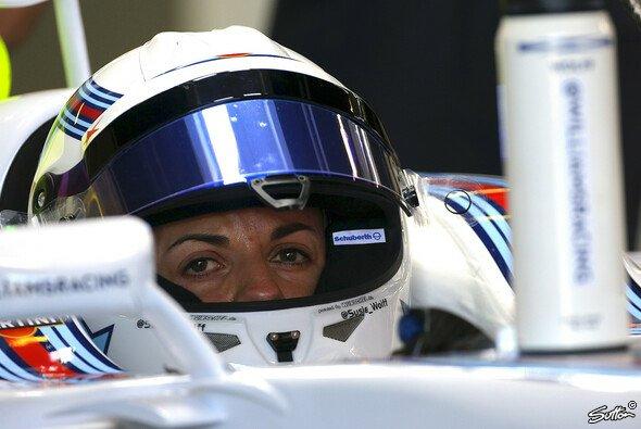 Susie Wolff durfte zum zweiten Mal in einem Formel-1-Cockpit platznehmen