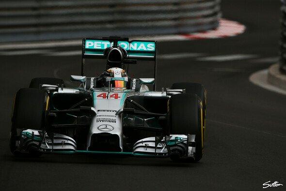 Hamilton fuhr Bestzeit, dahinter folgte Rosberg
