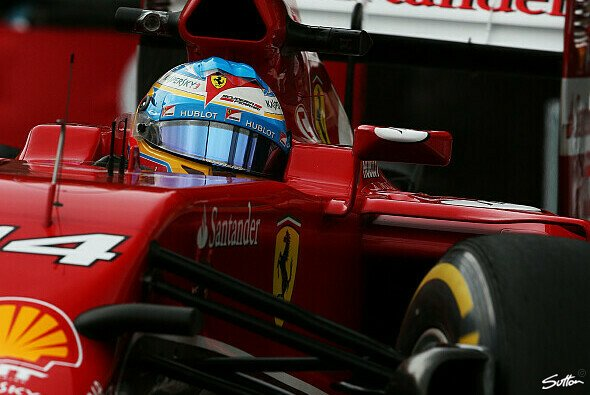 Fernando Alonso war im Endspurt vorne