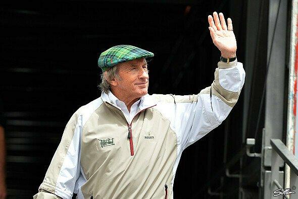 Jackie Stewart: dreifacher Weltmeister und Sicherheitsvorreiter. - Foto: Sutton