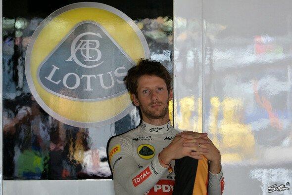 Für Romain Grosjean könnte sich das Lotus-Kapitel zum Saisonende schließen
