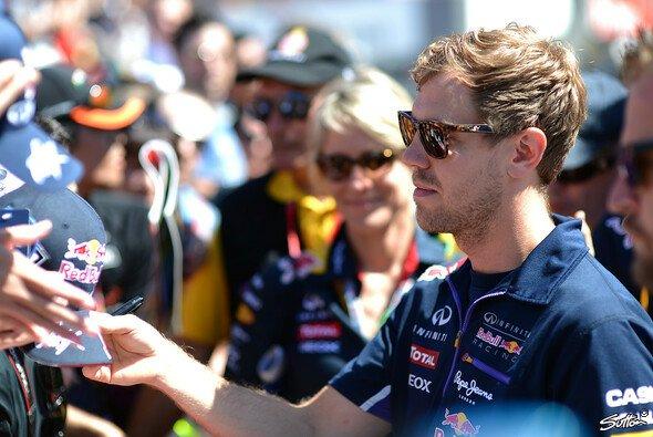 Sebastian Vettel besucht Spielberg