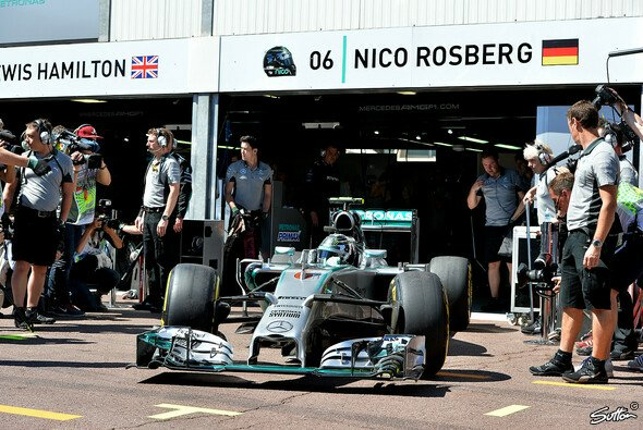 Der Vorsprung von Mercedes ist in Monaco kleiner