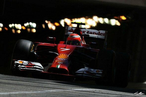 Kimi Räikkönen startet von Platz sechs
