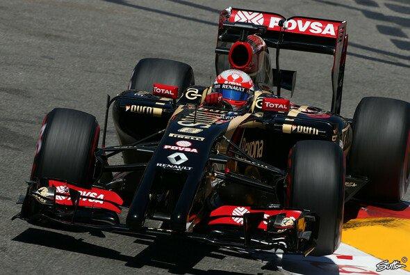 Lotus ergatterte Punkte in Monaco