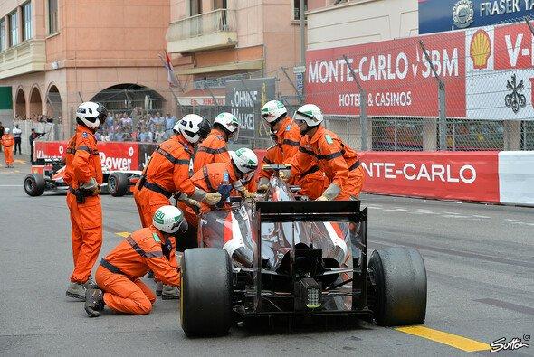 Sauber erlitt in Monaco Schiffbruch