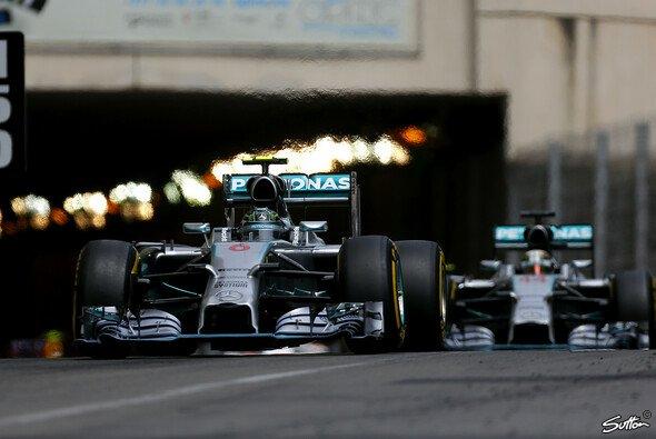 Zwischen Nico Rosberg und Lewis Hamilton knistert es ordentlich