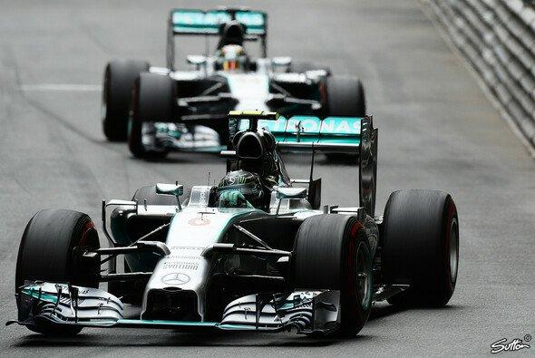 Rosberg und Hamilton schenken sich nichts mehr