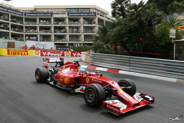 Alonso holte in Monaco immerhin ein paar Punkte