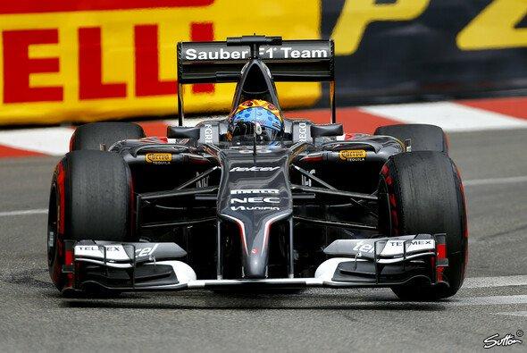 Sauber läuft den ersten Punkte der Saison hinterher