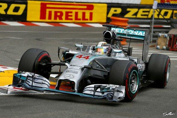 Lewis Hamilton war der schnellste Mann in den Gassen Monte Carlos