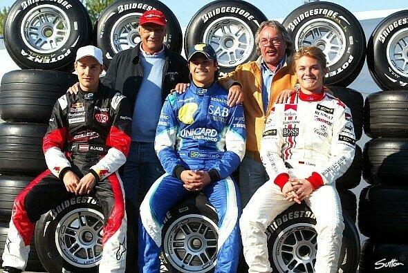 Vater & Sohn: Keke und Nico Rosberg, Niki und Mathias Lauda und Nelsinho Piquet