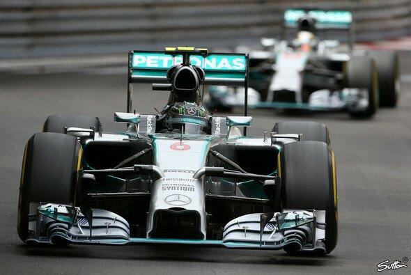 Lewis Hamilton war nicht nur im Rennen hinter Nico Rosberg